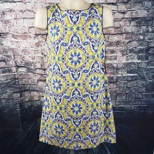 Betsey Johnson Stylized Floral Dress, Size 8